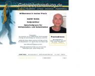 Bild Webseite Buda Harry Heilpraktiker Düsseldorf