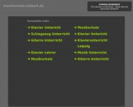 Bild Webseite Musikschule Ziebart Nürnberg