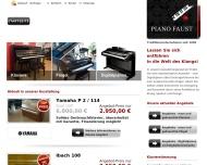 Klaviere, Fl?gel, Digitalpianos - beim Klavierhaus Piano Faust in Wuppertal - Startseite