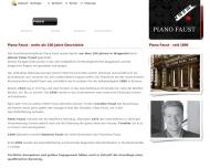 Website Piano Faust Hartmut Faust