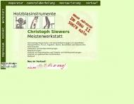 Bild Siewers Christoph Holzblasinstrumente