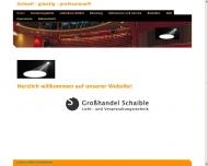 Bild Klotz Margarete Musikalien u. Schaible Reinhard Großhandel für Licht- und Veranstaltungstechnik