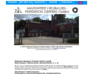 Bild Mahlwerk Neubauer-Friedrich Geffers GmbH