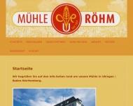 Bild Chr. Röhm KG Kunstmühle