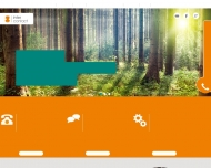 Bild Webseite Intercontact Werbegesellschaft Frankfurt