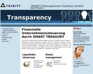 Bild Webseite Trinity Management Systems Frankfurt