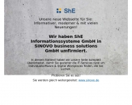 Bild Webseite ShE Informationssysteme Frankfurt