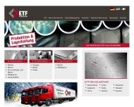Bild Webseite ETF Trade Frankfurt