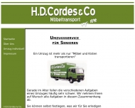 Bild H.D. Cordes & Co., Möbeltransport e.K.