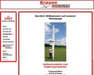 Bild Webseite Krause Rudolf Modellbau Giengen an der Brenz