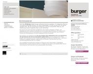 Website burger beratungsbüro für Raum+Konzept