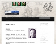 Website Massage & Lymphdrainage Struller Andreas
