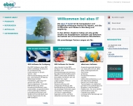 Bild Webseite ABAS IT München