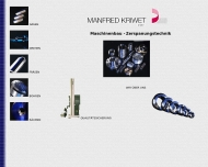 Website Kriwet Manfred Dreherei
