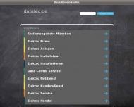 Bild Webseite datelec Hard- u. Software München