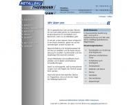 Website Thiermann Metallbau