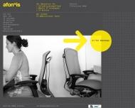 Website Afontis IT+Services