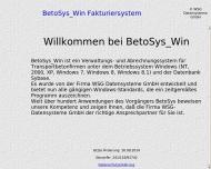 BetoSys Win, Fakturiersystem f?r Beton, M?rtel, Sand, Kies und Pumpe