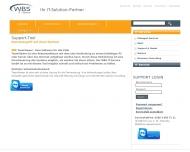 Website WBS IT-Service