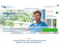 Bild Webseite Lohnsteuerhilfeverein Vereinigte Lohnsteuerhilfe Bad Birnbach