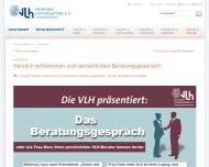 Website Lohnsteuerhilfeverein Vereinigte Lohnsteuerhilfe