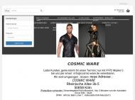 Bild Webseite Cosmic Ware Köln