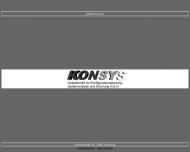 Bild KONSYS Ges. für Konfigurations-Planung Systemanalyse und Schulung GmbH