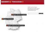 Bild Webseite K-LOG Kaiser's Tengelmann Logistik- und Dienstleistungsgesellschaft Berlin