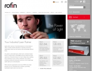 ROFIN.COM - Lasers for Industry - Fiber lasers, Ultrashort pulse lasers, solid-state lasers, CO2-Las...