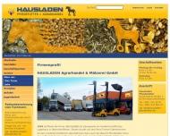 Website Emmeran Hausladen Verwaltung