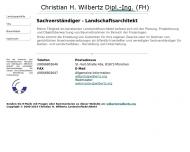 Bild Wilbertz Christian H. Dipl.-Ing. Landschaftsarchitekt BDLA