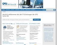 GFU Cyrus AG IT-Schulungen wie Microsoft, Linux und Java