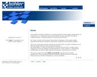Bild Webseite Bühler software consulting Rösrath