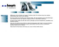 Bild Webseite Haupts IT Solutions Aachen