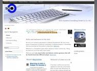Bild Webseite SCIO - Consulting Frankfurt