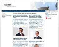 Bild Webseite Metzler seel. Sohn & Co. Frankfurt