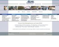 Bild Webseite  Bad Homburg
