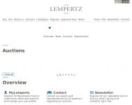 Kunstauktionen online beim Auktionshaus Lempertz