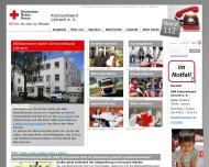 Bild Webseite Deutsches Rotes Kreuz, KV Lörrach Kleidershop Schopfheim