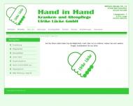Website Hand in Hand Ulrike Lücke