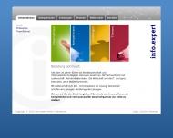 Bild Webseite info.expert Frankfurt