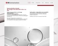 Bild Webseite SN Communications - SecureNet München