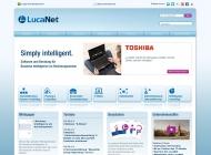 Bild Webseite LucaNet München