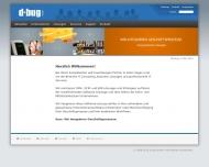 d bug GmbH Startseite