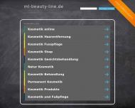 Bild Webseite Luther Marion Kosmetik- und Fußpflege Hamburg