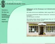 Website Mathies Karin Kosmetik