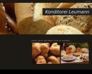 Website Leumann Axel Konditorei