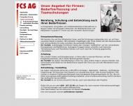 Website Frauen-Computer-Schule Aktiengesellschaft