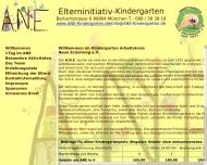 Bild ANE Arbeitskreis Neue Erziehung e.v. Kindergärten