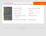 Bild Webseite I Love Tickets Dachau